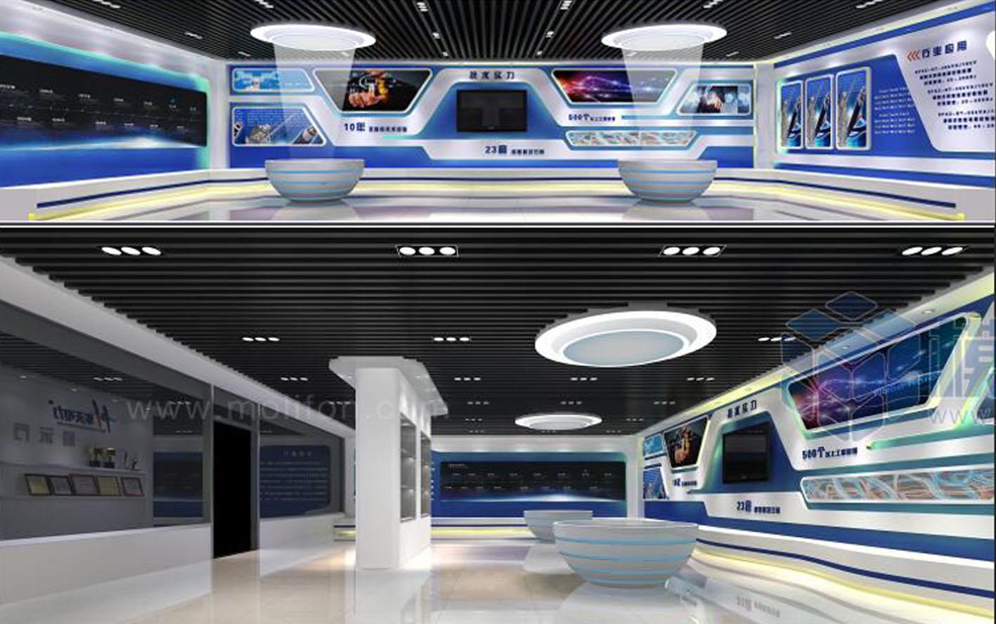 华天电力展示厅